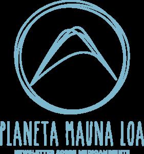 Periodista freelance especializado en medioambiente. Logo del proyecto Planeta Mauna Loa.
