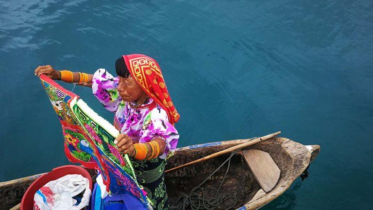 Indígena del pueblo Guna.